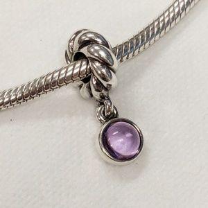 Pandora Passionately Purple Charm